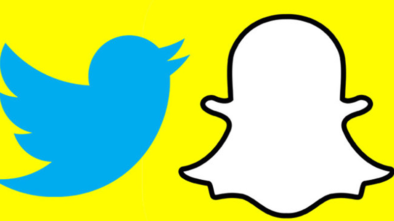 Add a tweet to a snap on Snapchat
