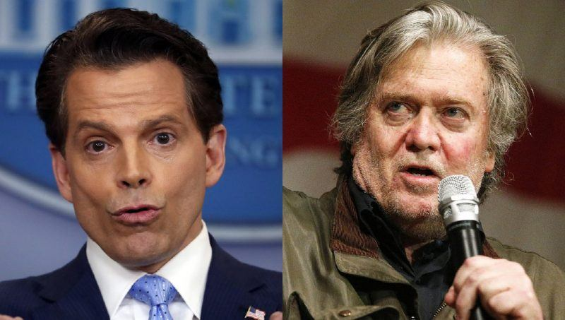Anthony Scaramucci has his say about steve bannon