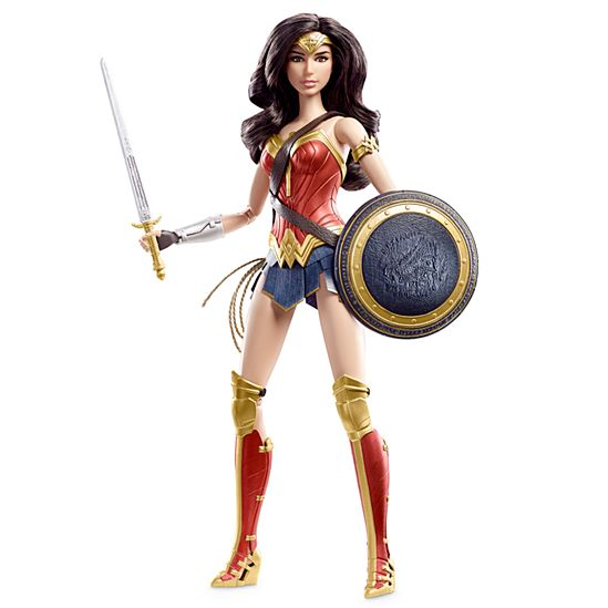 DC Wonder Woman Battle-Ready Doll, 12 2017 hot holiday toys