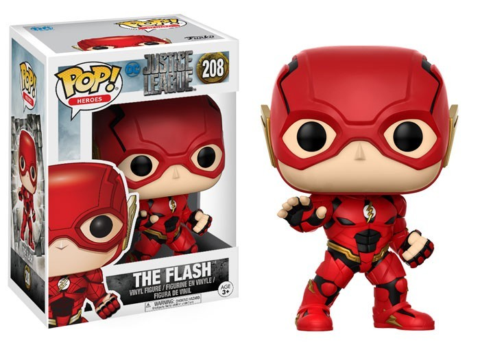 Funko POP! Movies DC Justice League - The Flash Toy Figure hot holiday toys