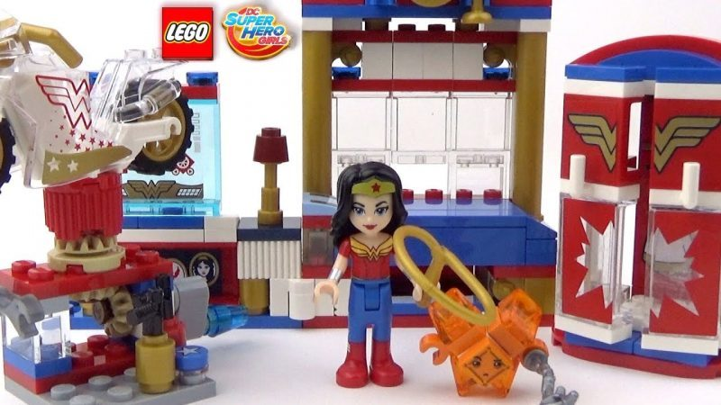 LEGO DC Super Hero Girls Wonder Woman Dorm 41235 DC Collectible 2017 hot holiday toys
