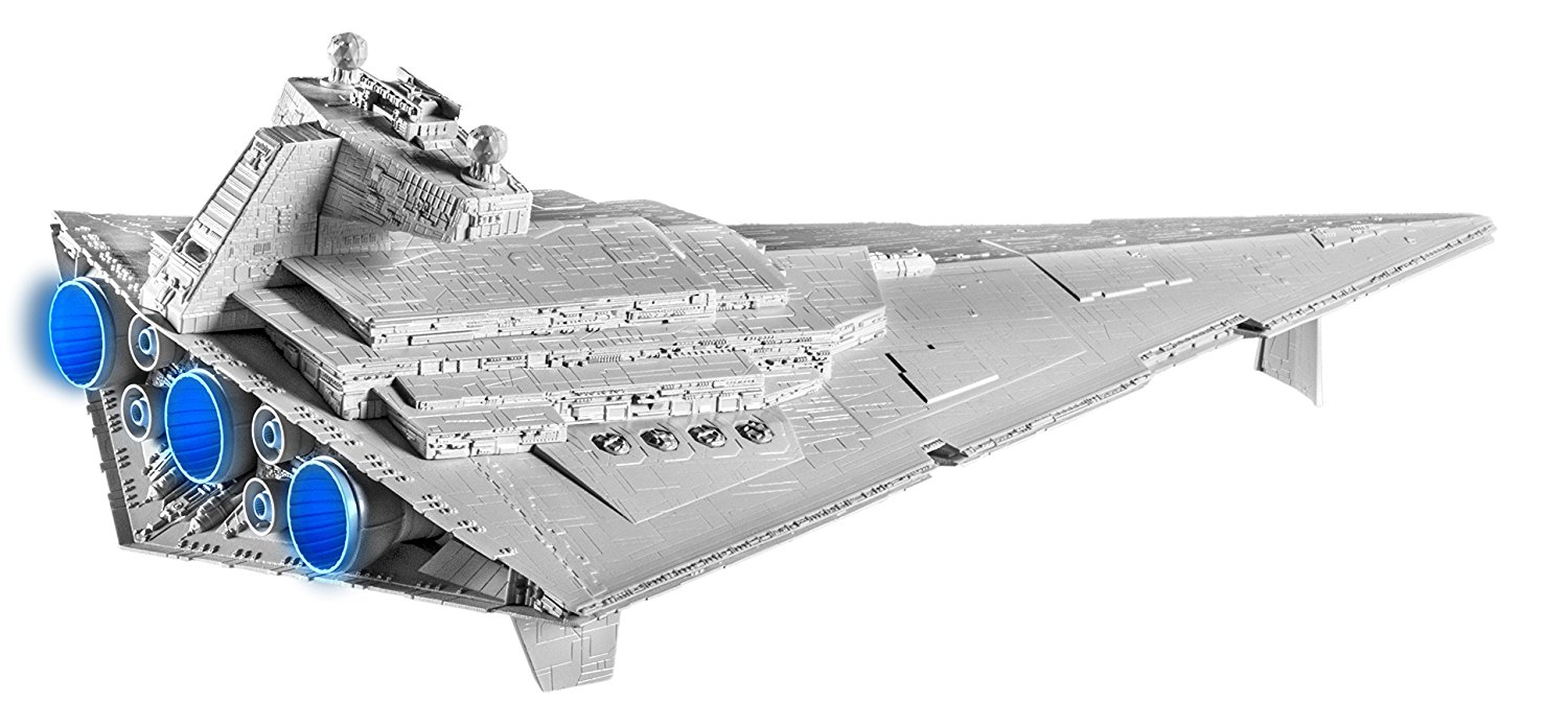 Revell Snaptite Build Play Imperial Star Destroyer Building Kit