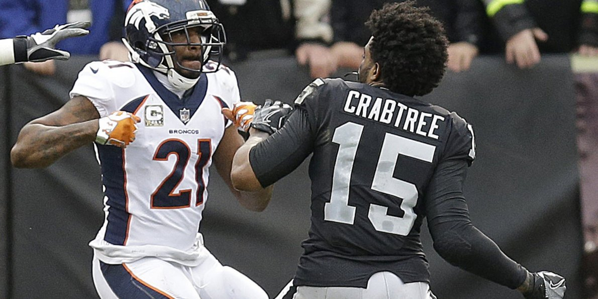 Michael Crabtree Vs Talib >> Aqib Talib, Michael Crabtree punches continue off NFL field | Movie TV Tech Geeks News