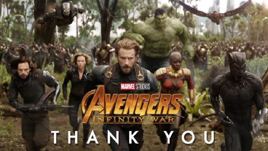 AVENGERS: INFINITY WAR Debuting Early For 17 Countries