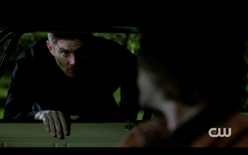dean cwinchester not happy sam driving baby supernatural 1308