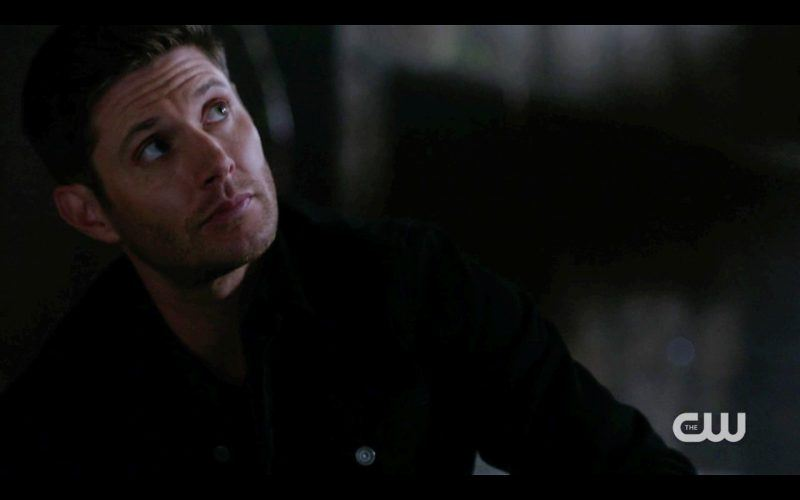 dean winchester looking up after energy drink supernatural scorpion