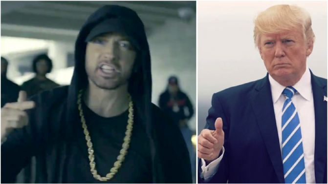 eminem wants donald trump impeached now