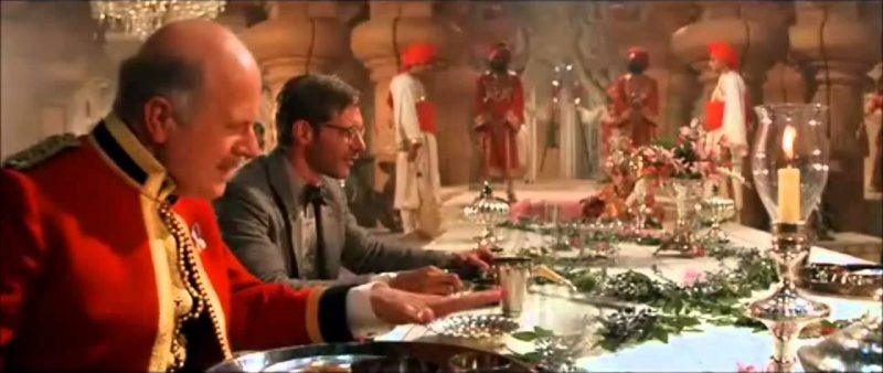 indiana jones temple of doom indian banquet scene