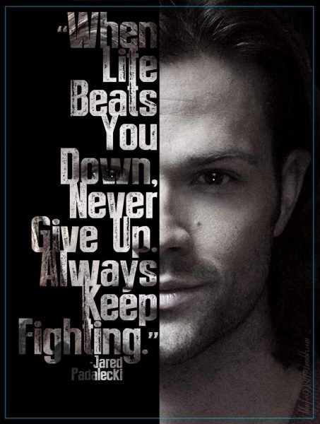jared padalecki always keep fighting initiative
