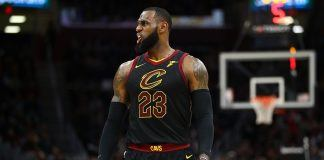LeBron James gives up worrying about NBA finals 2017 images