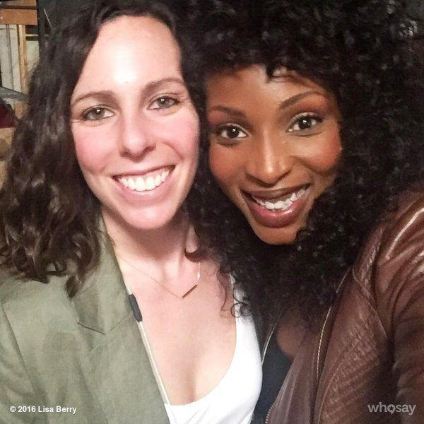 lisa berry with supernatural director nina lopez corrado images