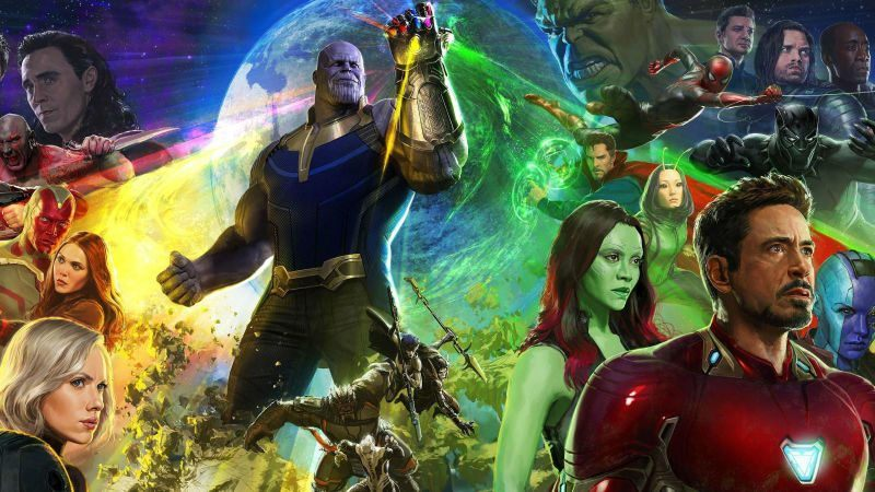 marvel kicks dc comics with new avengers infinity war trailer