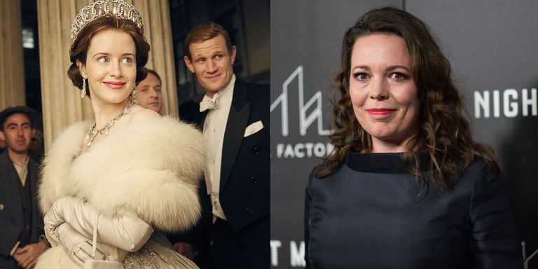 olivia colman replaced clair foy as queen elizabeth the crown show