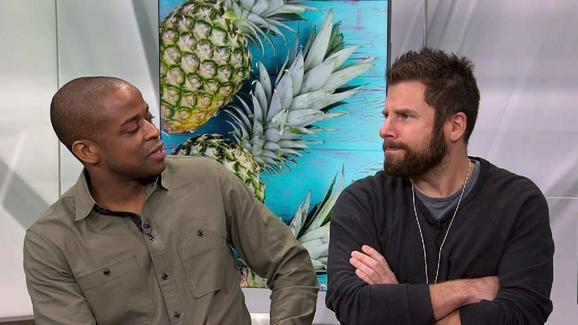 pineapples with james roday and dule hill psych the movie