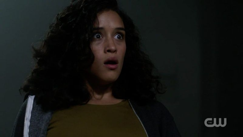 supernatural kaia reacts to angel attacking jack bad place 1309