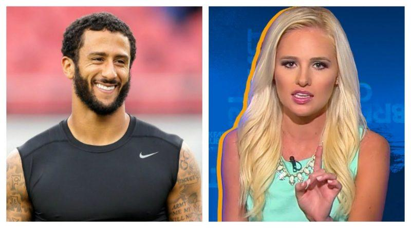 tomi lahren on colin kaepernick award 2017