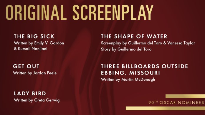 2018 oscars academy awards original-screenplay