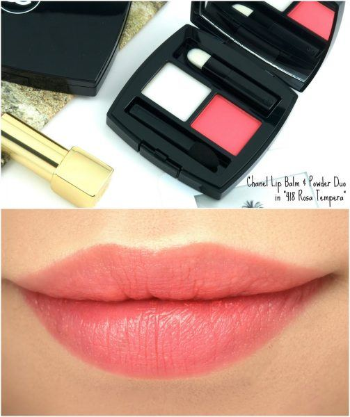 CHANEL POUDRE À LÈVRES LIP BALM AND POWDER DUO valentines day gift ideas