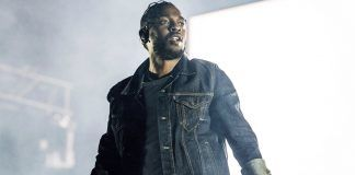 Grammys 2018 Kendrick Lamar humbled with carrie fisher and lin manuel images