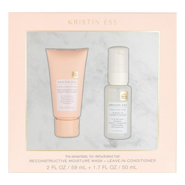 Kristin Ess Reconstructive Moisture Mask + Leave-In Conditioner Set valentines day gift ideas