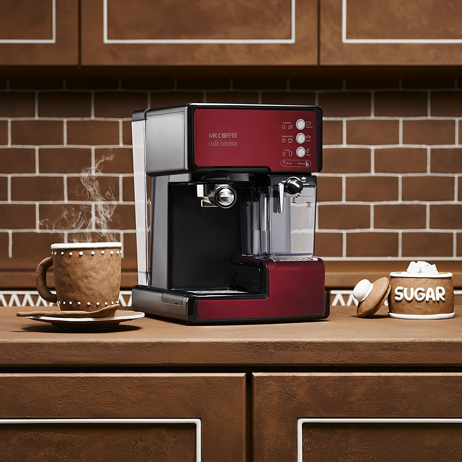 Mr. Coffee Cafe Barista 2 Coffee Maker That Makes Hottest Coffee