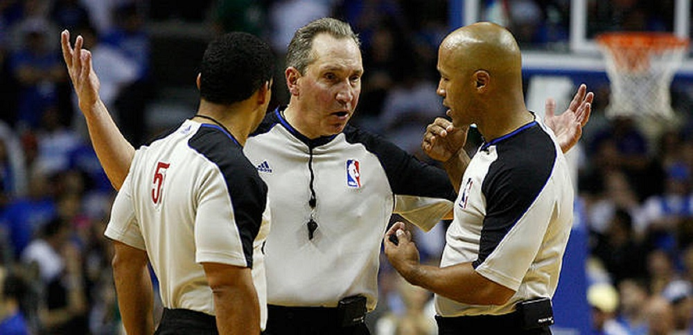 NBA attempts to repair relationships with players and refs 2018 images