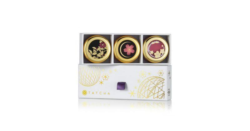 Tatcha Camellia Kisses Lip Balm Trio valentines day gift ideas
