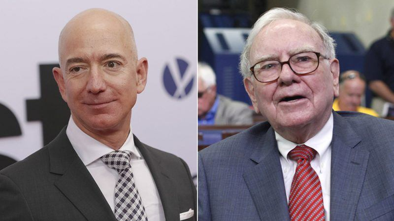 amazon joins with berkshire hathaway for health care insurance warren buffett