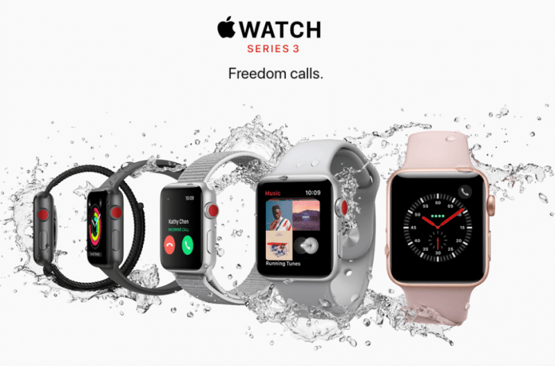 apple watch series 3 hot valentines day gift ideas