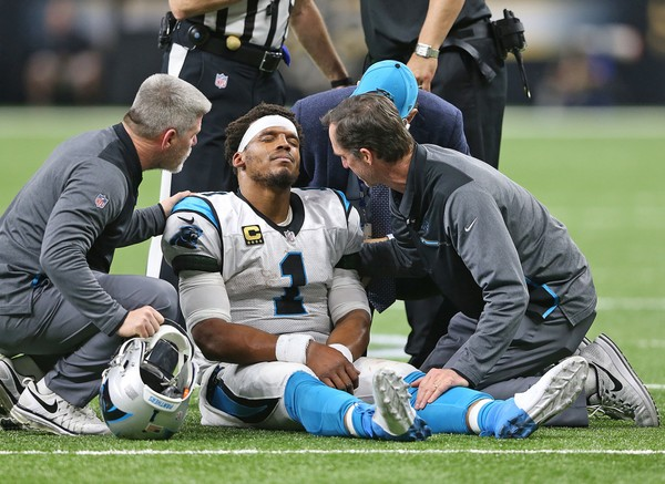 cam newton injury handled correctly by panthers