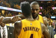 cavs iman shumpert looks to lebron james for investment advice 2018 images