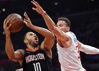 chris paul keeps rocket fuel going against la clippers nba