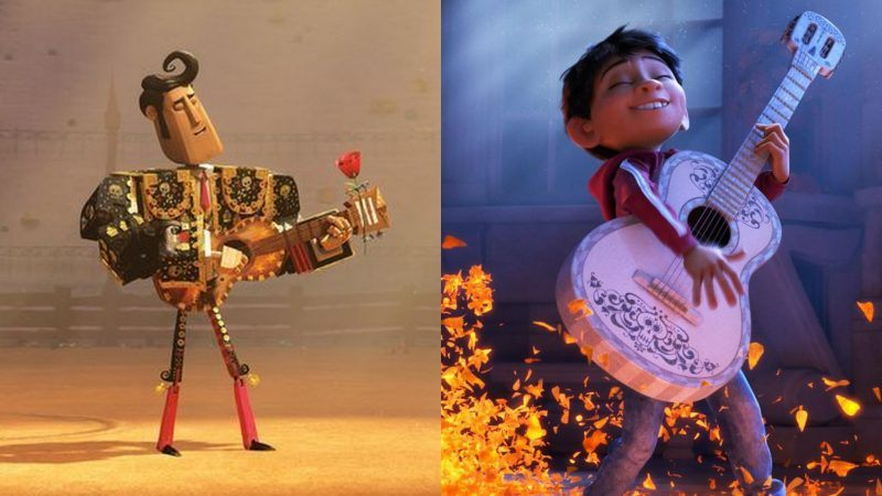 coco very similar to book of life movie 2018