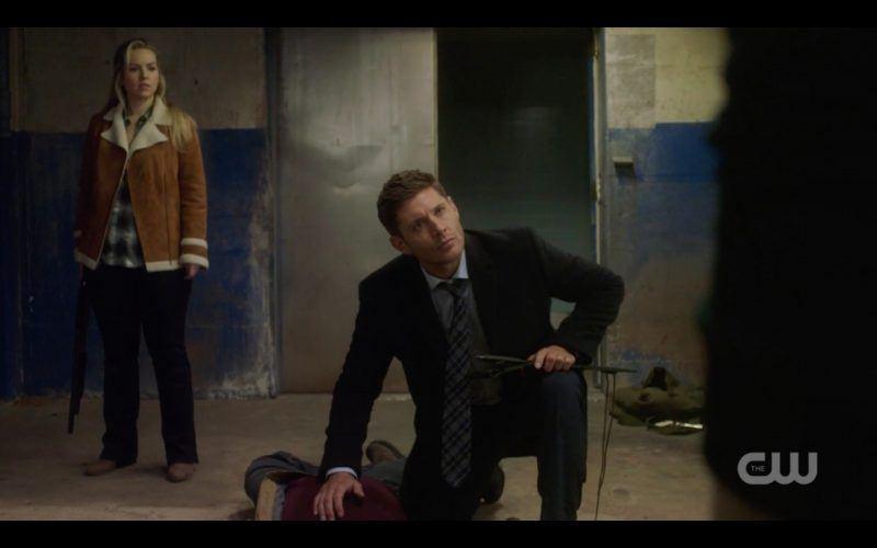 dean with donna supernatural finding bad guy torturing sam