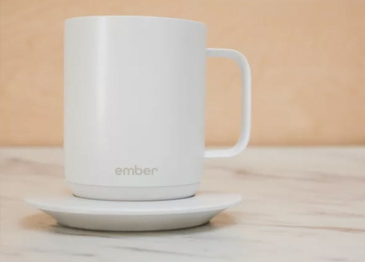 ember self heating coffee mug hot valentines day tech gifts 2018