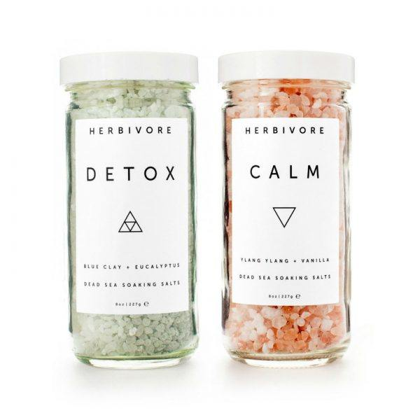 herbivore botanicals bath salts set hot valentines gifts