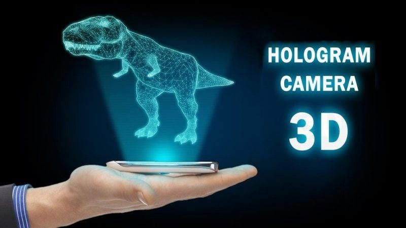 hologram images 3d