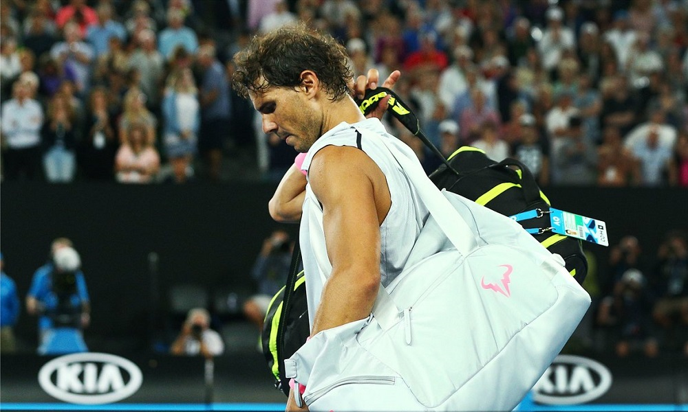 injury plagues rafael nadal at australian open out for 2 weeks 2018 images