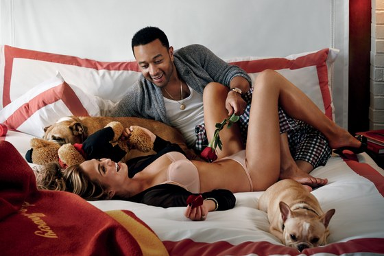 john legend valentines day with chrissy teigen images