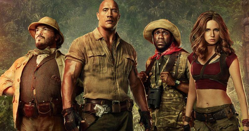 jumanji welcome to the jungle movie reviews