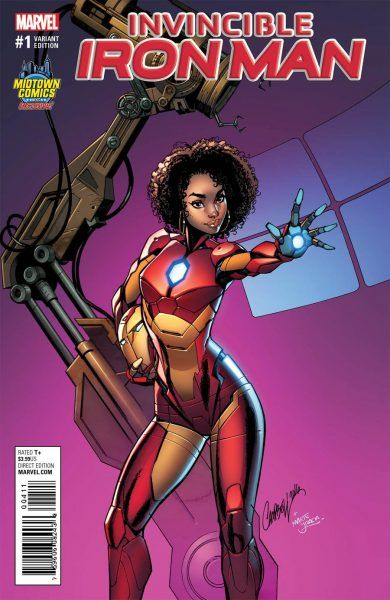 marvel replaced tony stark with riri williams to broaden black audience