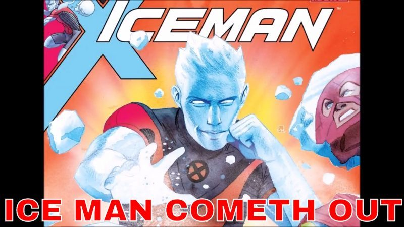marvel sjw ice man comes out gay