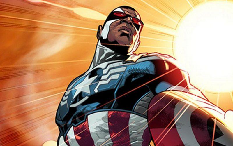 marvel turns captain america black for mcu