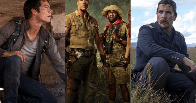 maze runner jumanji and hostils top three spots at box office