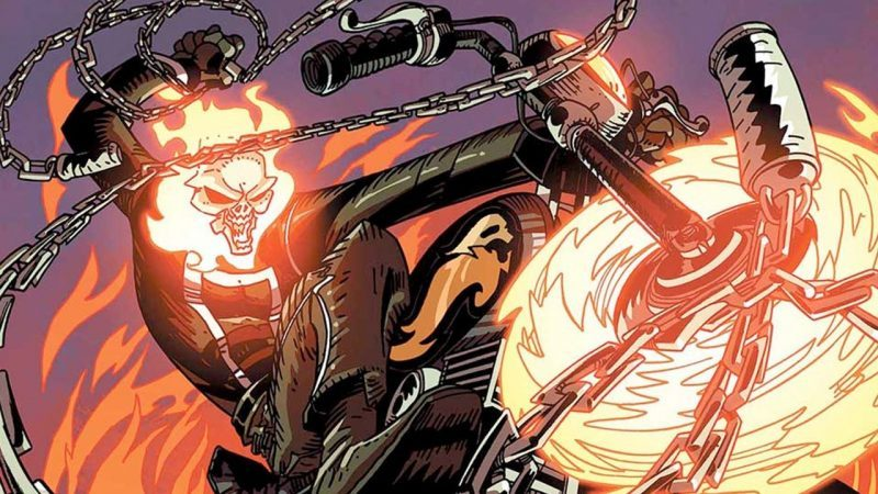 robbie reyes ghost rider with marvel mcu
