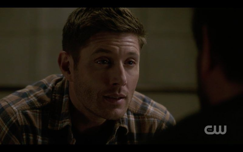 supernatural dean winchester interrogates beaten up ketch