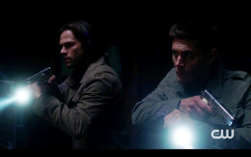 supernatural sam dean winchester flashlights for richard speight jr mttg interview