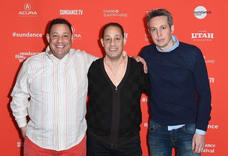 tim wardle with david kellman and robert shafran for three identical strangers documentary