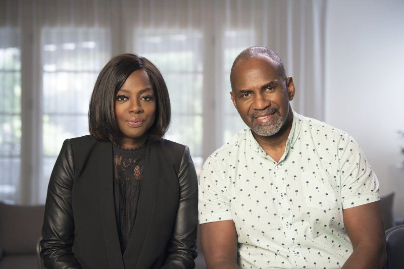 viola davis with julius tennon on two sides docu series for TV One
