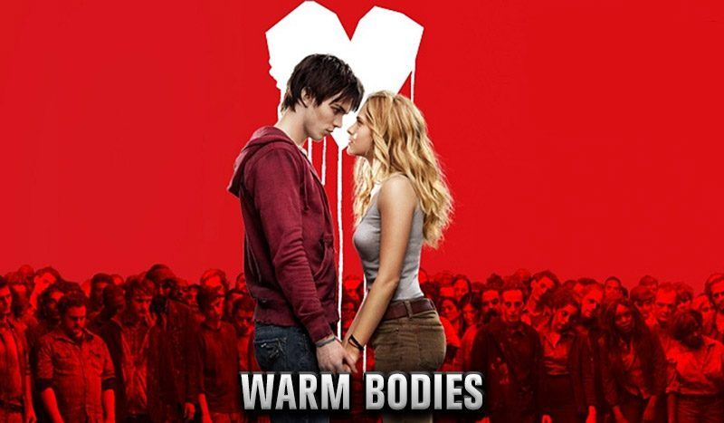 warm bodies romantic zombie valentines day movies